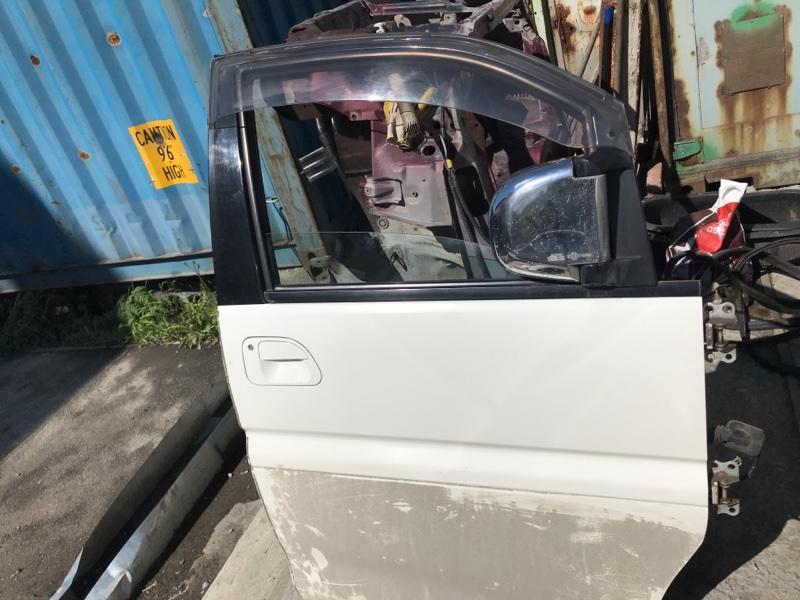 Дверь Mitsubishi Delica PD8W 4M40 2002 передняя правая