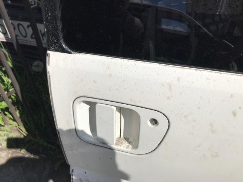 Ручка двери внешняя Mitsubishi Delica PE8W 4M40 2002 левая