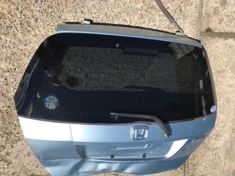 Рамка подсветки крепления номера накладка крышки багажника Honda Fit GD1 L13A, L15A 2002