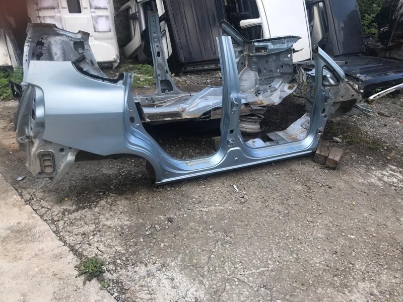 Порог кузовной Honda Fit GD1 L13A, L15A 2002