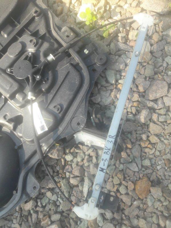 Стеклоподъемный механизм Mazda 3 BK 2008 задний правый