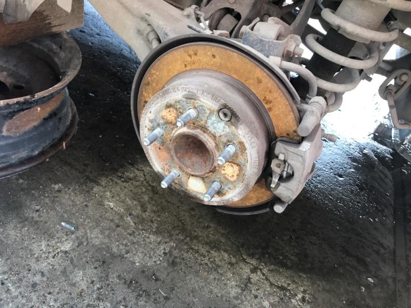 Тормозной диск Dodge Caliber PM ECN 2012 задний левый