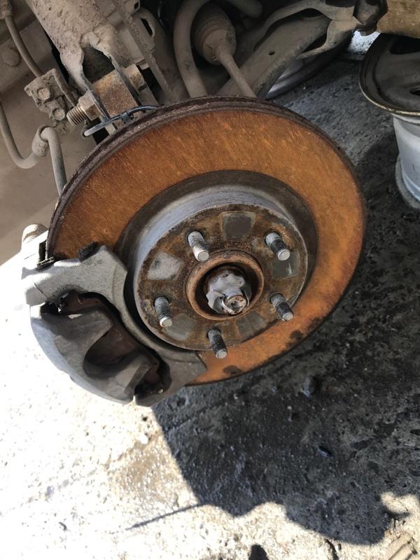 Тормозной диск Dodge Caliber PM ECN 2012 передний левый