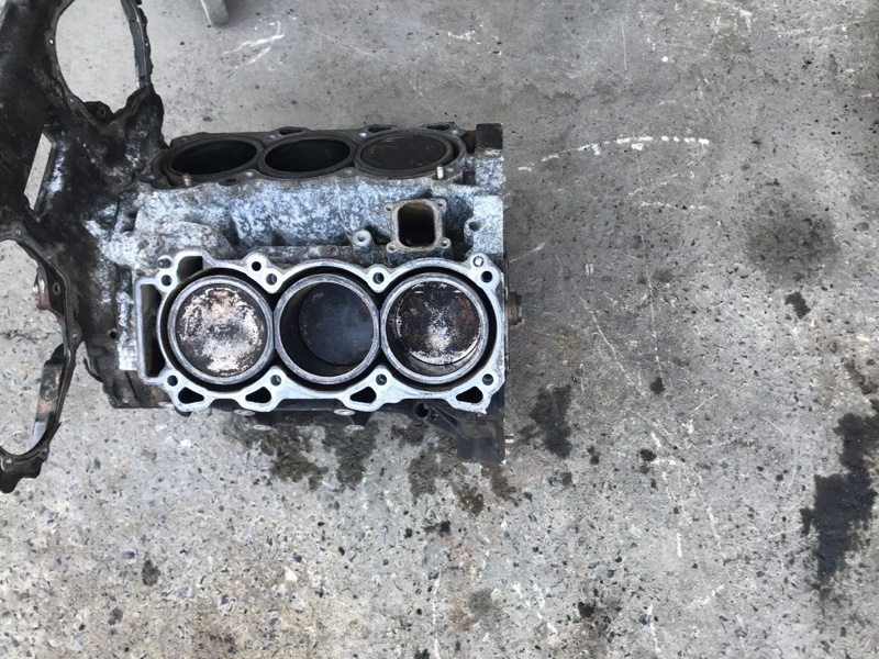 Блок двигателя Infiniti Qx4 JR50 VQ35