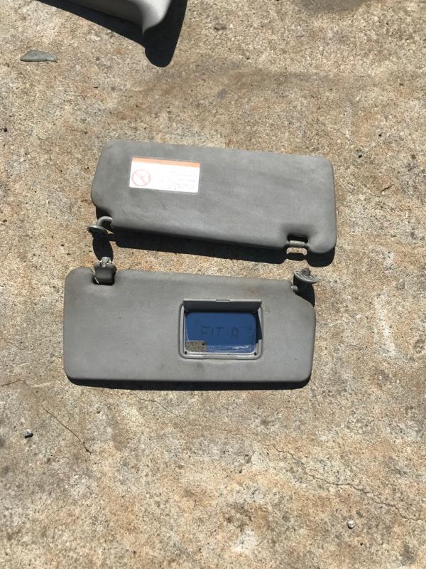 Козырек солнцезащитный Honda Fit GD1 L13A 2002