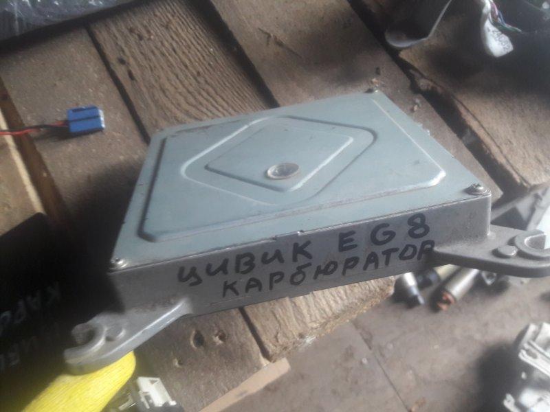 Блок управления двс, бортовой компьютер Honda Civic Ferio EG8 D15B 1993