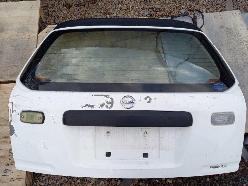 Дверь 5-я дверь багажника Nissan Ad Y11 QG15DE 2000