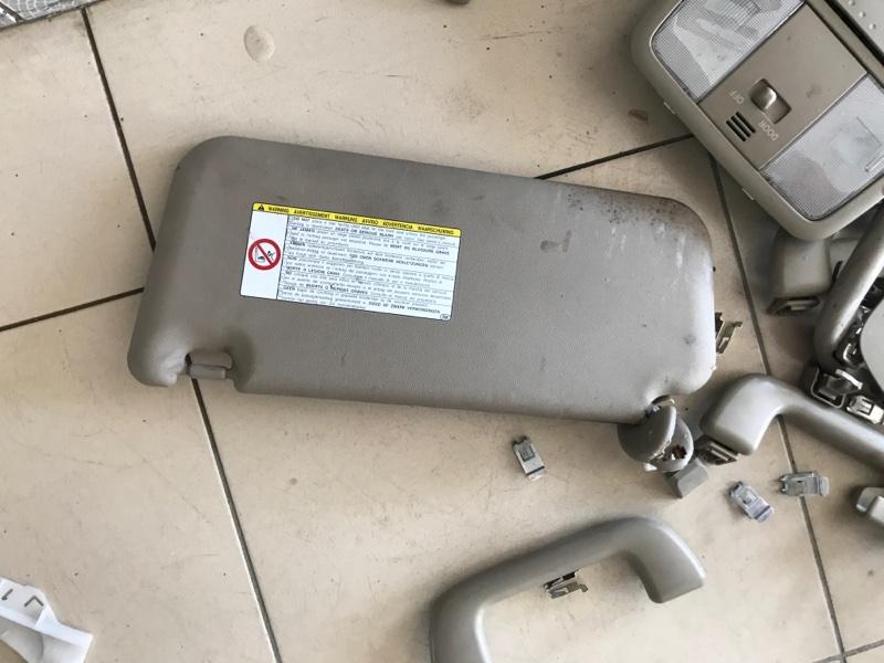 Козырек солнцезащитный Toyota Rav4 30 2012