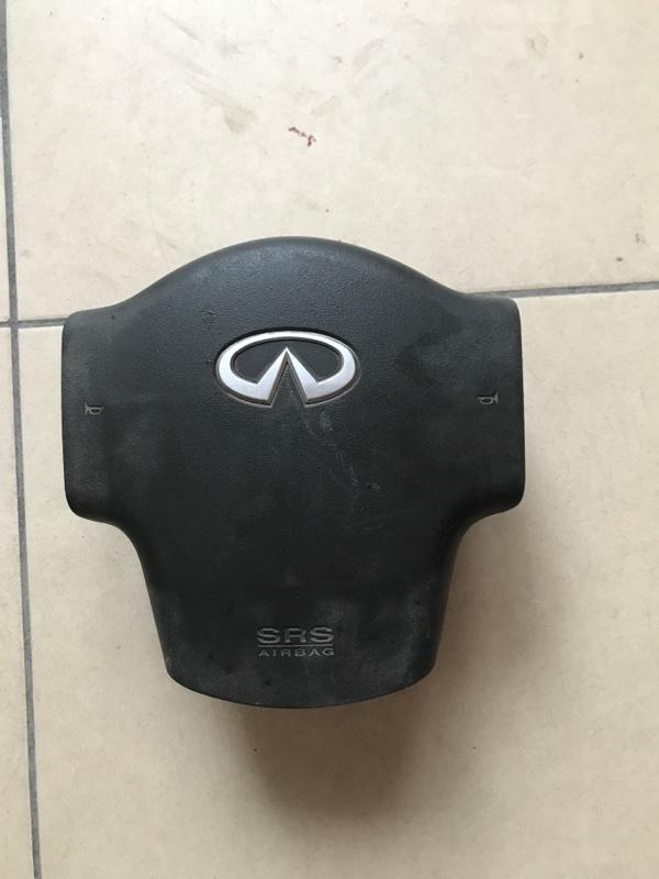 Airbag подушка безопасности на руль Infiniti Qx56 JA60 2007