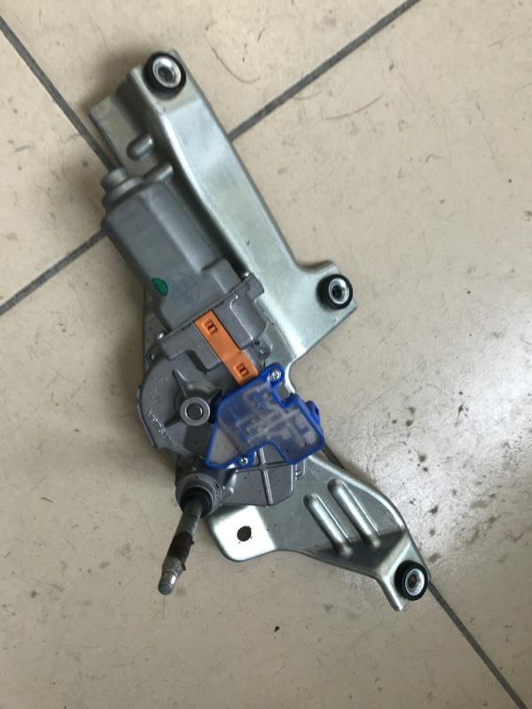 Мотор дворников двигатель стеклоочистителя Subaru Forester SH5 2010 задний
