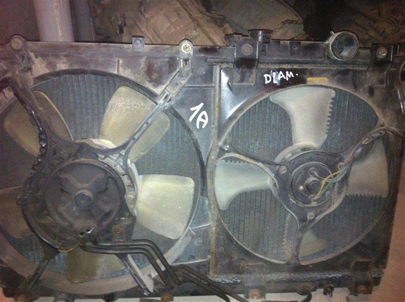 Радиатор двс охлаждения двигателя Mitsubishi Diamante F31A 1998