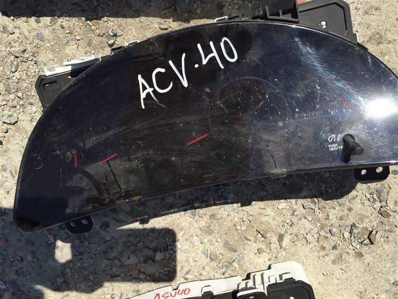 Щиток панель приборов Toyota Camry ACV40 2AZFE
