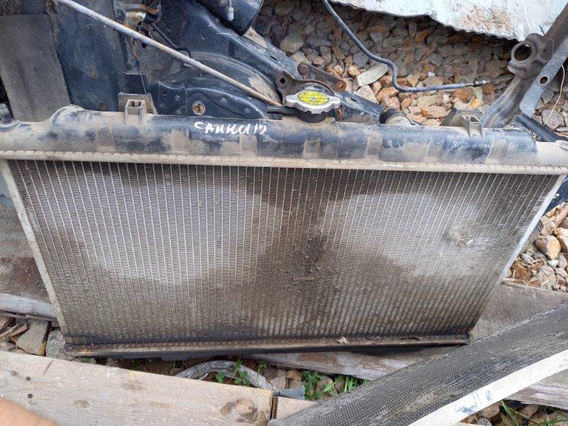 Радиатор двс охлаждения двигателя Nissan Sunny FB15, FNB15 QG15DE, QG13DE 2001
