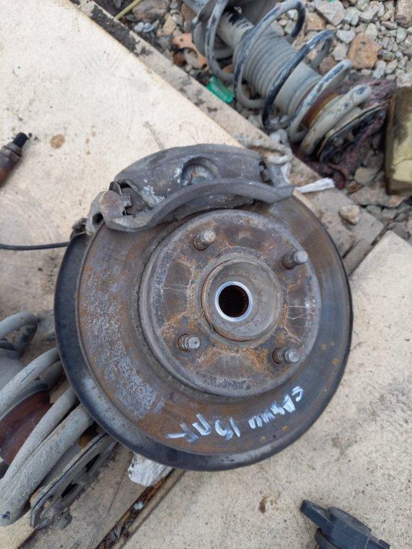 Поворотный кулак, ступица Nissan Sunny FB15, FNB15 QG15DE, QG13DE 2001