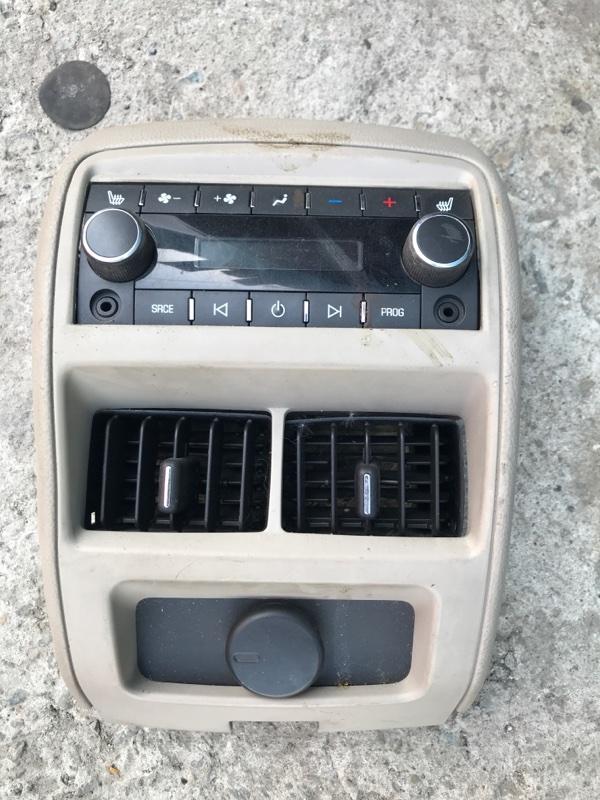 Блок управления климат-контролем Cadillac Srx EY LF1 20011 задний