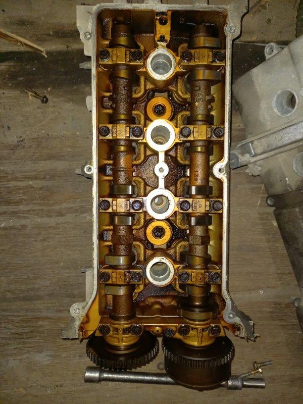 Головка блока цилиндров Mazda Demio DY5W, DY5R, DY3W ZJVE, ZYVE, ZY 2005