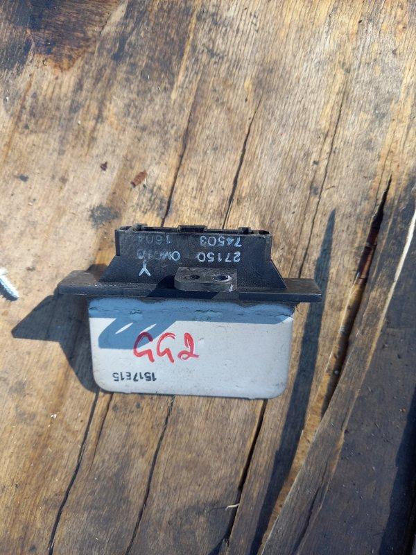 Резистор реостат отопителя печки Subaru Impreza GG2, GG EJ15 2001