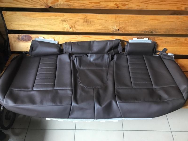 Обивка подушки заднего сиденья кожа Bmw X3 G01 2020