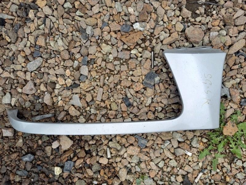 Планка ресничка под фары Subaru Forester SG5, SG9 EJ20 2006 передняя