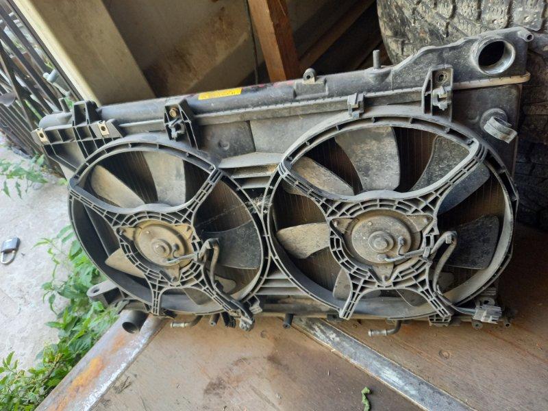 Вентилятор охлаждения радиатора Subaru Forester SG5 EJ205 2003