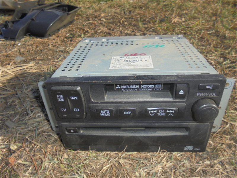 Магнитола Mitsubishi Pajero V45W 6G74 1997