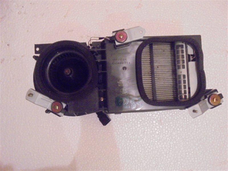 Печка Toyota Markii JZX110 1JZ-FSE 2001 задняя
