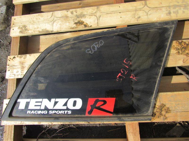 Форточка багажника Toyota Caldina ST215 3SGTE правая