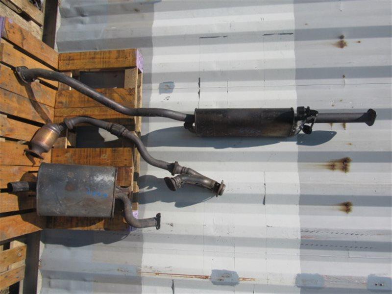 Глушитель Toyota Harrier MCU15 1MZ 2002