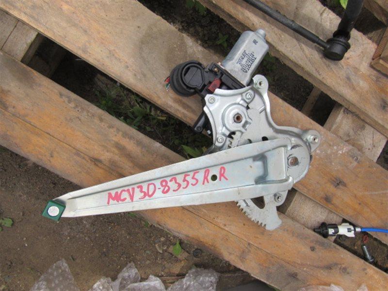 Стеклоподъемник Toyota Windom MCV30 1MZ-FE 2003 задний правый