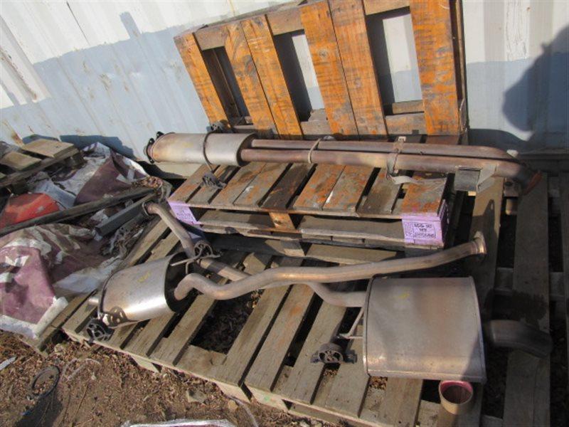 Глушитель Bmw X5 E53 M54B30 2004