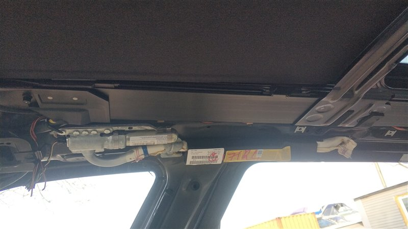 Подушка безопасности боковая, потолочная Bmw X5 E53 M54B30 2006 задняя левая