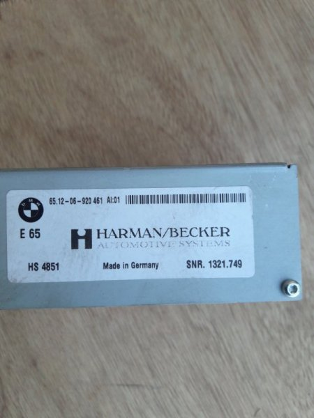 Усилитель аудиосистемы Bmw 7-Series E65 N62B44A 2003