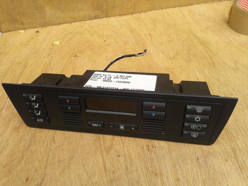 Блок управления климат-контролем Bmw X5 E53 M54B30 2004