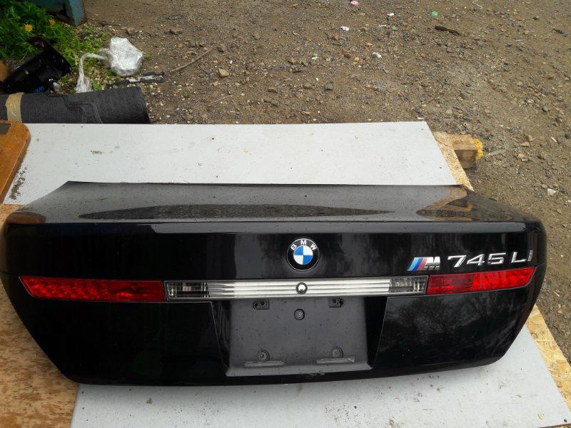 Крышка багажника Bmw 7-Series E65 N62B44A 2003