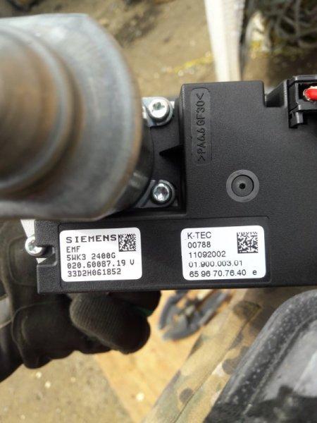 Моторчик стояночного тормоза Bmw 7-Series E65 N62B44A 2003