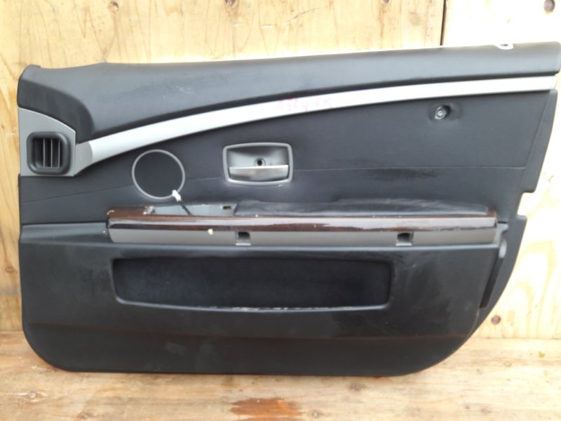 Обшивка двери Bmw 7-Series E65 N62B44A 2003 передняя правая