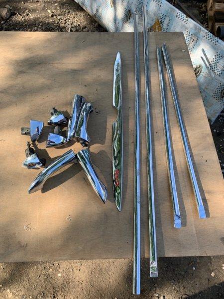 Молдинг накладка на двери ручки полку Bmw X5 E53 M54B30 2006
