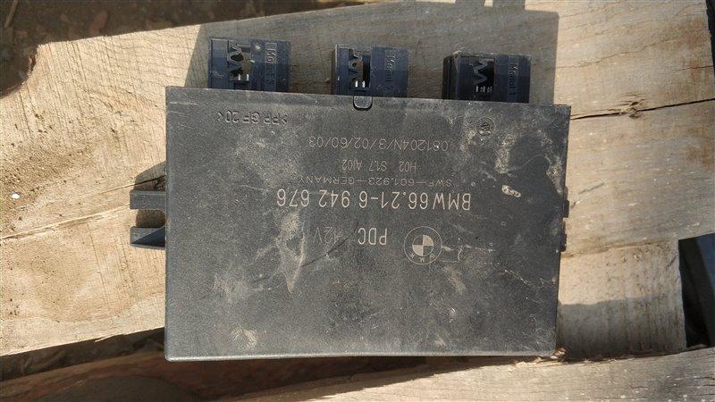 Блок управления парктроником Bmw X5 E53 M54B30 2005