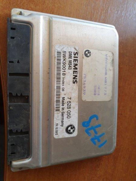 Блок управления двигателем Bmw X5 E53 M54B30 2004