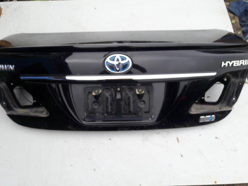 Крышка багажника Toyota Crown GWS204 2GRFSE задняя