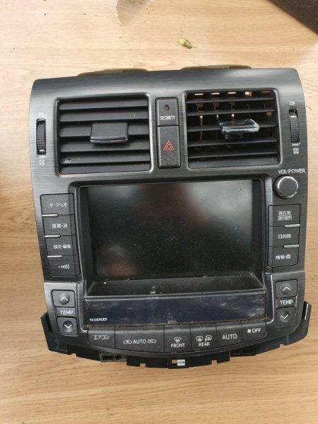 Блок управления климат-контролем Toyota Crown GWS204 2GRFSE