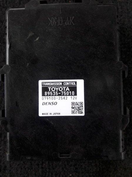 Блок управления акпп Toyota Sai AZC10 2AZFXE 2010