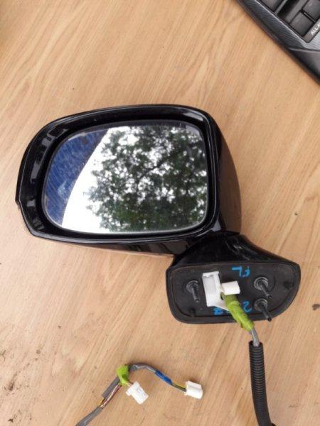 Зеркало Toyota Crown GWS204 2GRFSE левое