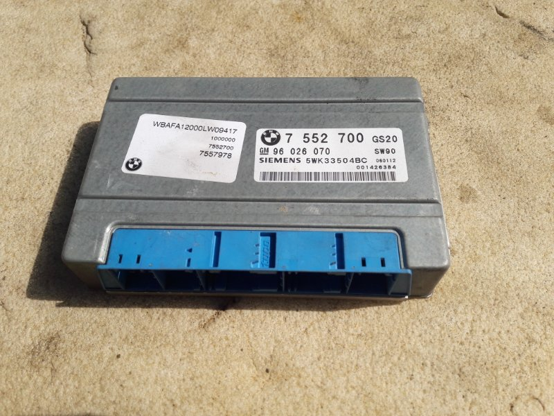 Блок управления акпп Bmw X5 E53 M54B30 2006