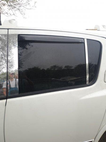 Стекло двери Infiniti Qx56 JA60 VK56DE 2004 заднее левое