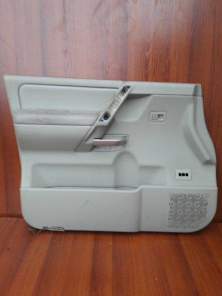 Обшивка двери Infiniti Qx56 JA60 VK56DE 2004 передняя левая
