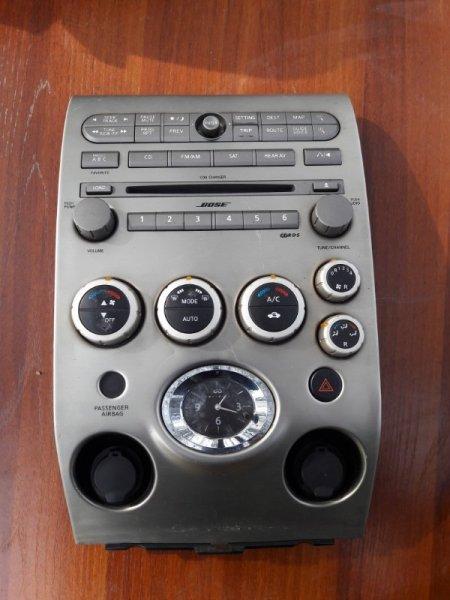 Блок управления климат-контролем Infiniti Qx56 JA60 VK56DE 2004