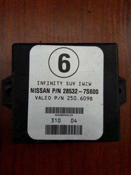 Блок управления парктроником Infiniti Qx56 JA60 VK56DE 2004