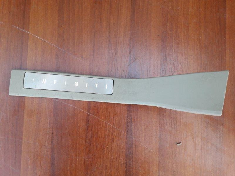 Накладка на порог Infiniti Qx56 JA60 VK56DE 2004 задняя левая