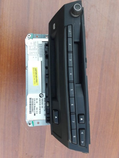 Магнитола Bmw X5 E70 N52B30 2007